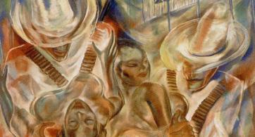 Carlos Enríquez, lectura psicológica de un rapto…