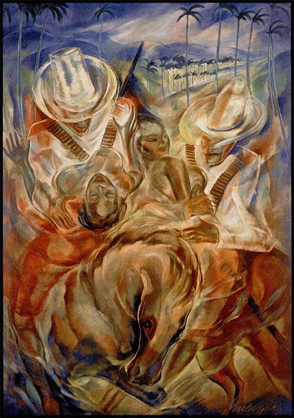 El rapto de las mulatas - Carlos Enriquez - Cuba