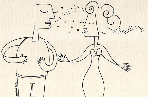 Dibujo de Manina Muraro | Amor y psicoanálisis