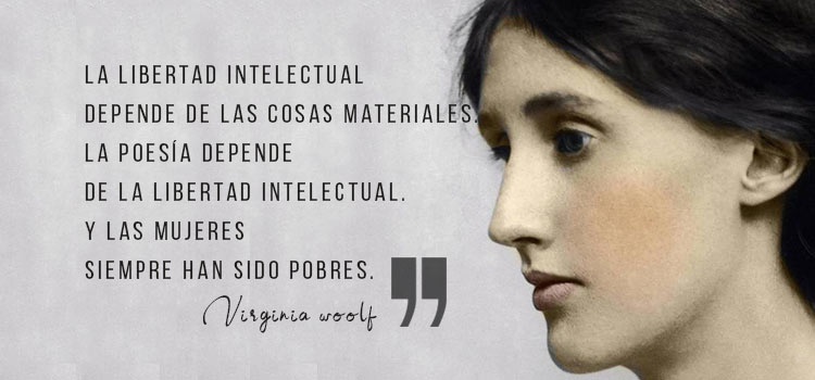 Frase de Virginia Woolf