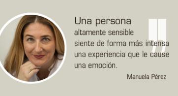"""Conoce más sobre la """"Alta Sensibilidad"""" con Manuela Pérez"""