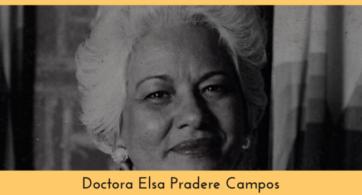 Doctora Elsa Pradere Campos: rorscharchista hasta el último hálito de vida