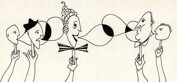 Dibujo de Vanina Muraro | Amor y soledad en los tiempos que corren