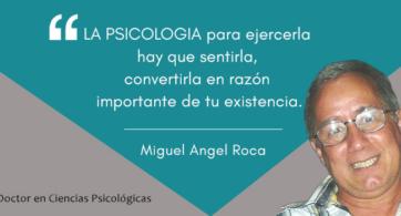 """Miguel Angel Roca: """"Nada sustituye a la competencia y compromiso del que enseña"""""""