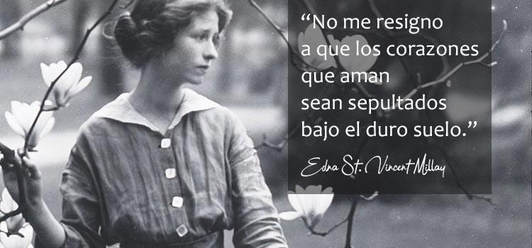 Frase Edna St Vincent Millay