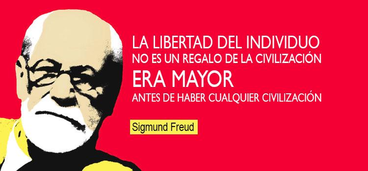 Frase Sigmund Freud - La élite dominante y el inconsciente freudiano