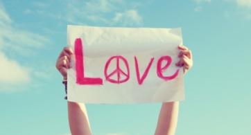 Si quieres sentir algo en la vida, entonces ama