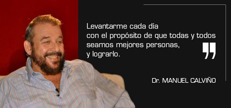 Conversar con Manuel Calviño sí que Vale la Pena