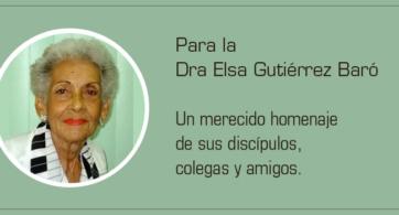 Elsa Gutiérrez Baró: lamentable pérdida para la salud mental infanto-juvenil cubana e iberoamericana
