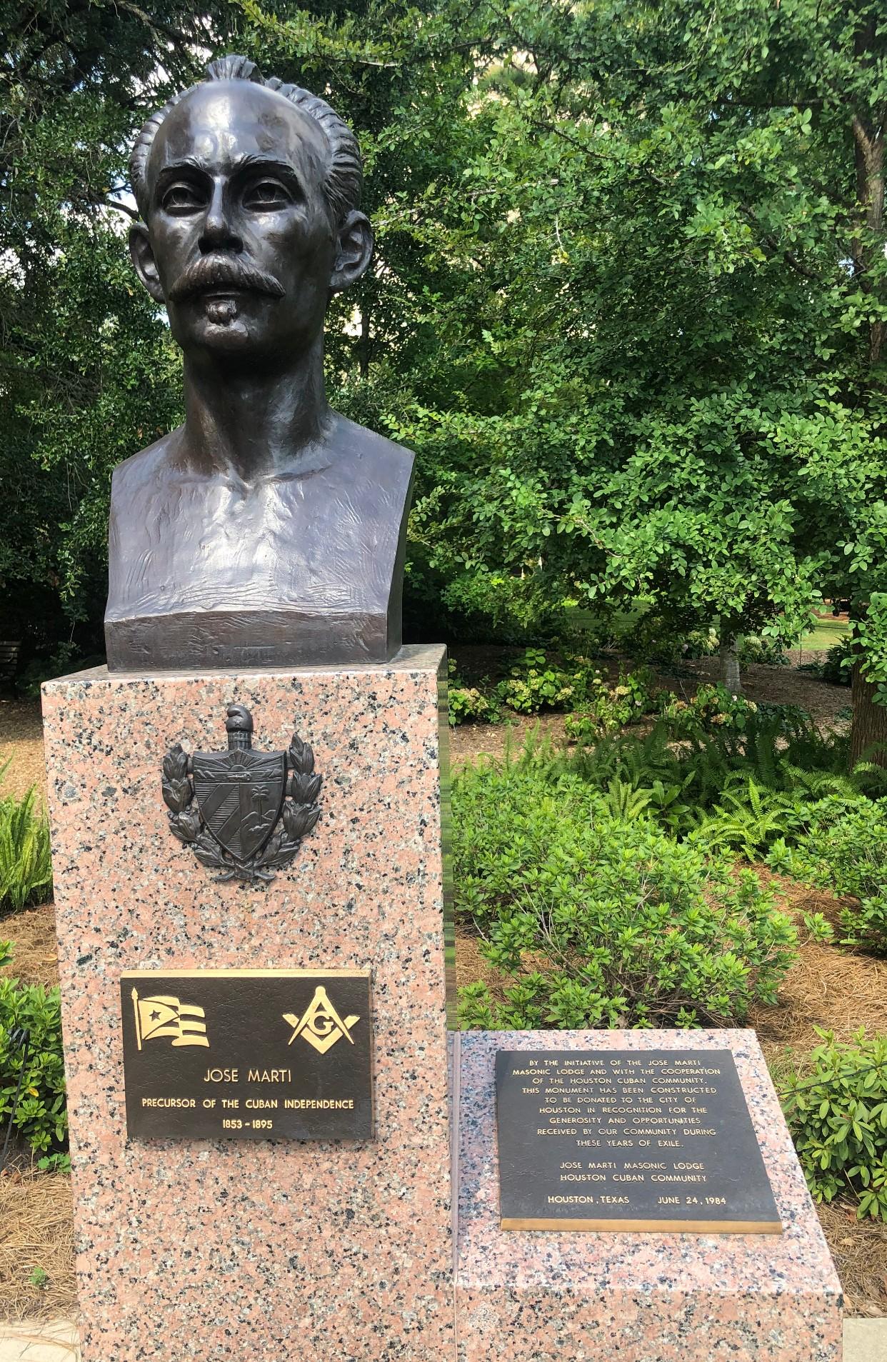 Jose Marti en Houston