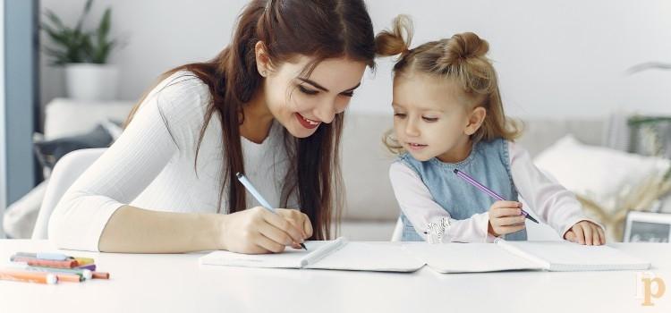 Niños y Adolescentes: El estudio en casa